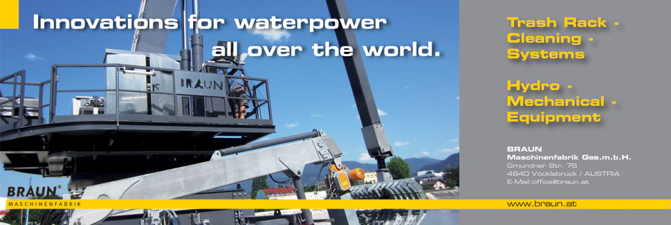 Innovations for waterpower all over the world