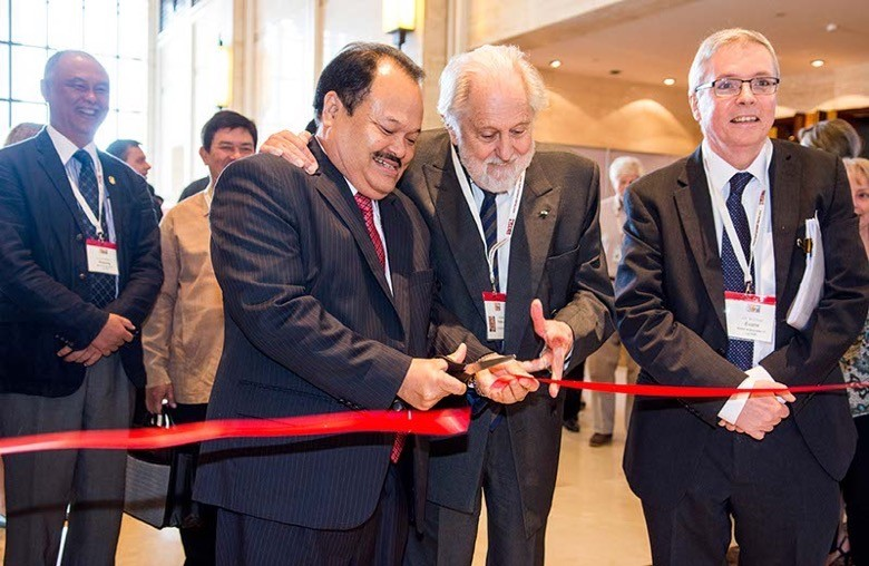 The official opening of the ASIA 2016 Exhibition