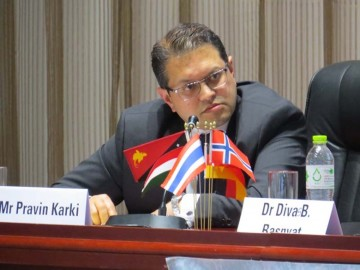 Pravin Karki, Senior Hydropower Specialist at the World Bank
