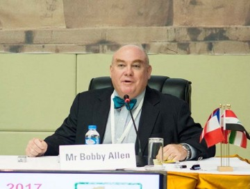 Mr R. (Bobby) Allen, General Manager of the Theun Hinboun Power Company