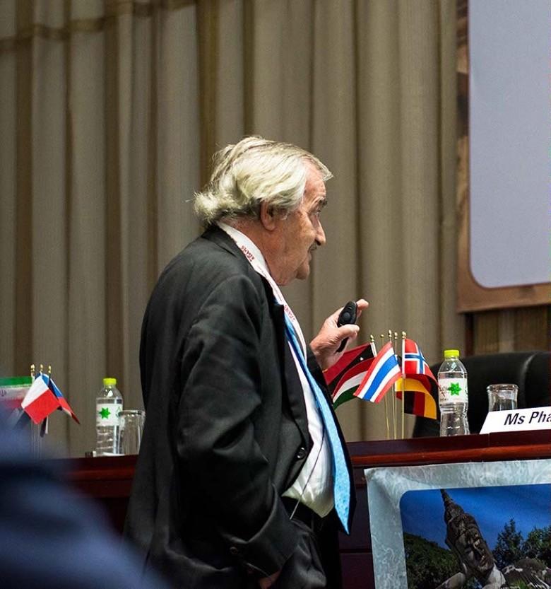 Prof Luis Berga, Hon. President of ICOLD
