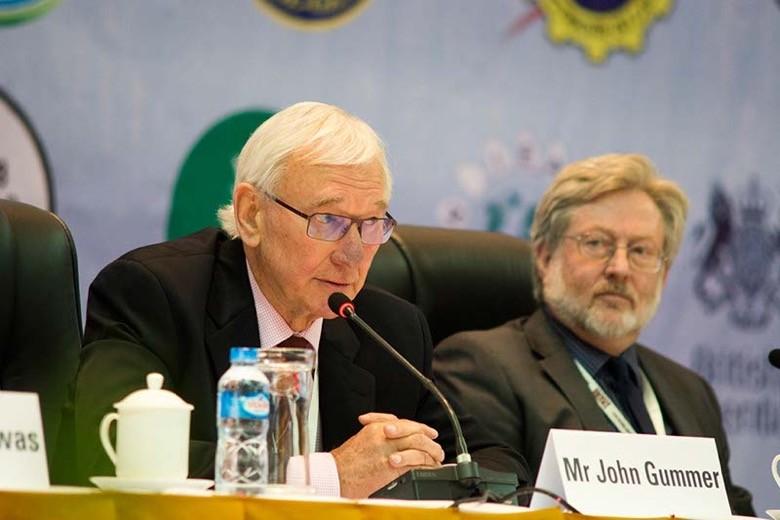 John Gummer, of Hydro-Consult
