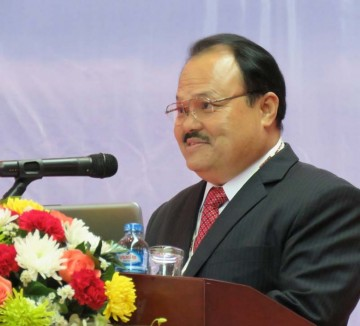 H.E. Khammany Inthirath, Minister of Energy & Mines of Lao PDR