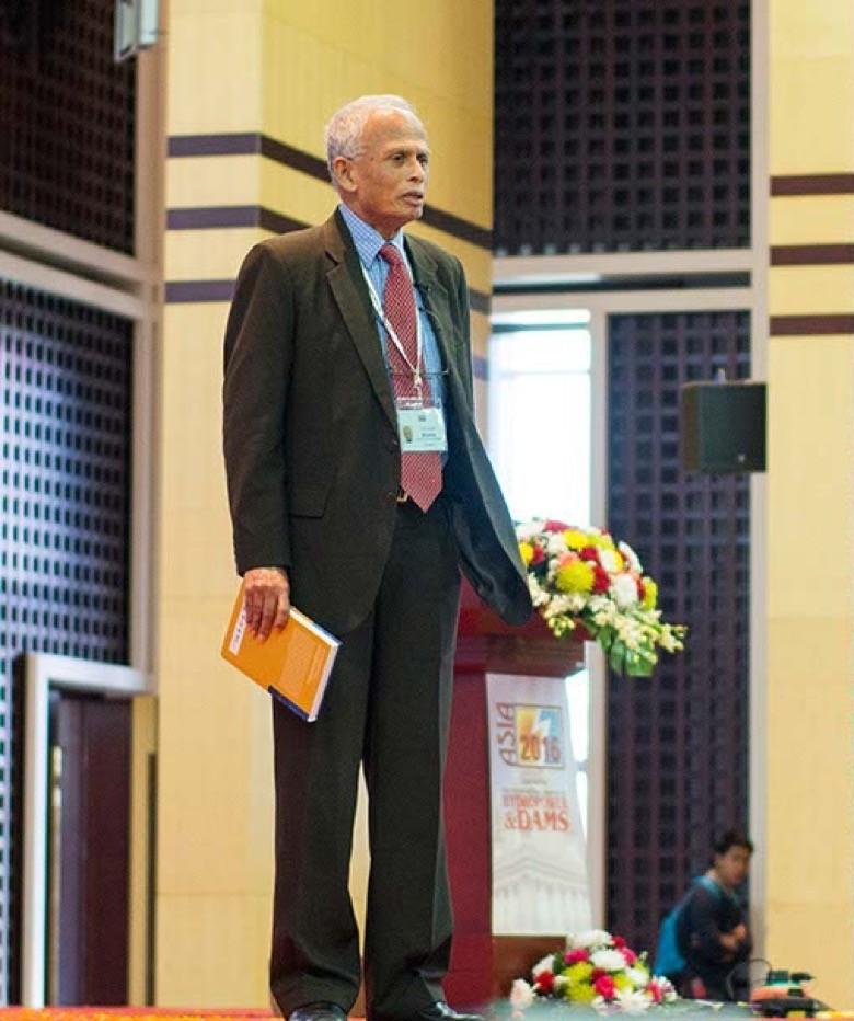 Prof Asit. K. Biswas