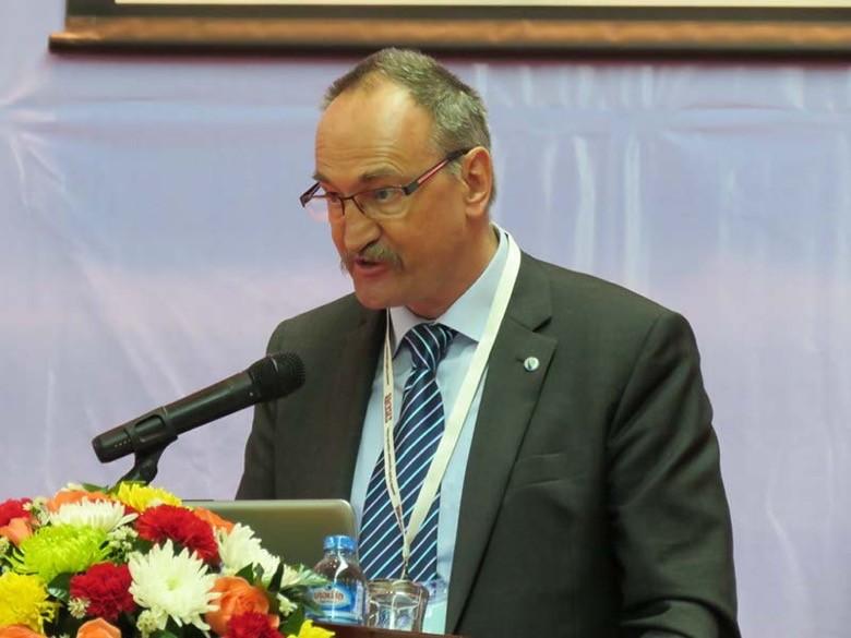 ICOLD President, Prof Anton Schleiss of Switzerland