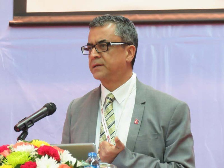 Radesh Pant, CEO of the Investment Board of Nepal