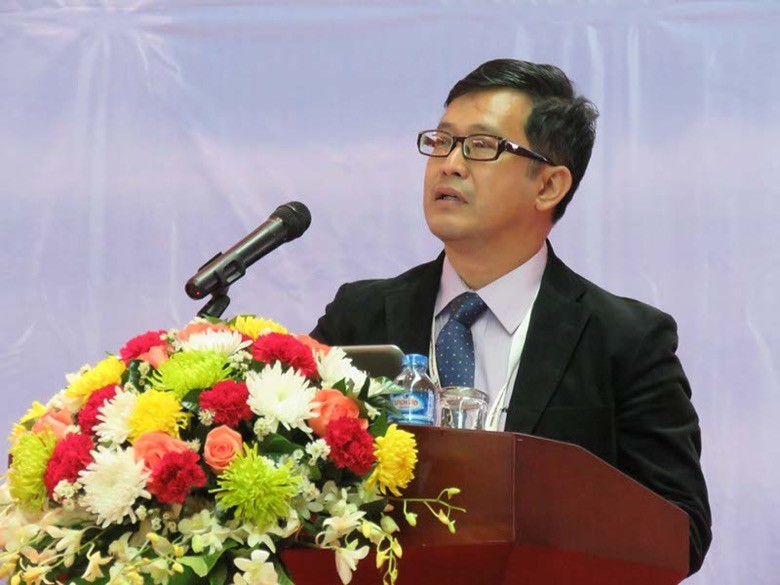 U Hein Htet, Deputy Director-General of DEPP at Myanmar's Ministry of Electric Power
