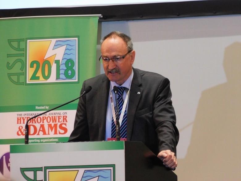ICOLD President Prof Anton Schleiss