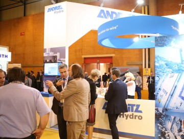 Andritz stand