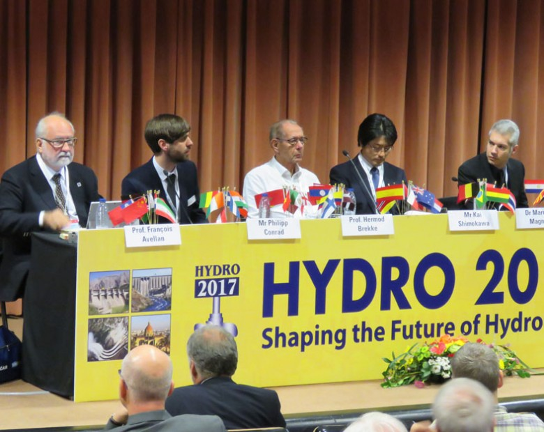 Session on research for hydro machinery